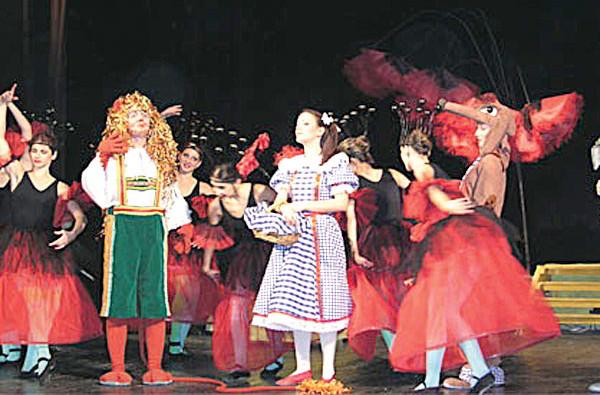MICUȚA DOROTHY, spectacol pentru copii la Oleg Danovski
