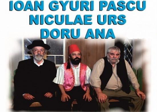 Ioan Gyuri Pascu în comedia TAKE, IANKE și CADÎR, la Casa de Cultură Constanța